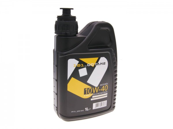 4-Takt Motorenöl Teilsynthetisch 101 Octane Quad + Roller 4T 10W40 1 Liter