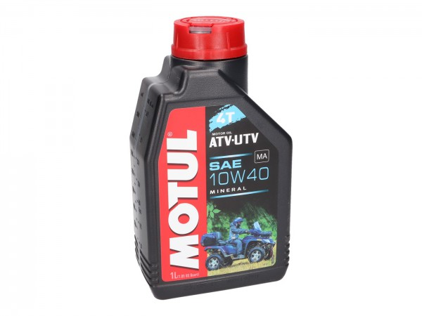 4-Takt Motorenöl Mineraliscch Motul Quad 4T ATV-UTV 10W40 1 Liter-Copy