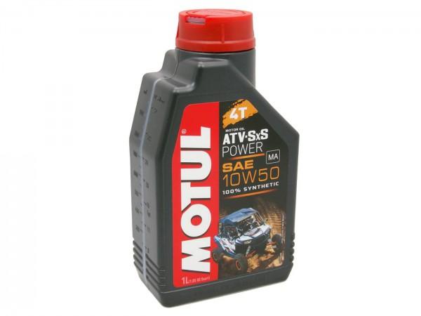 4-Takt Motorenöl Vollsynthetisch Motul Quad 4T ATV-UTV 10W50 1 Liter